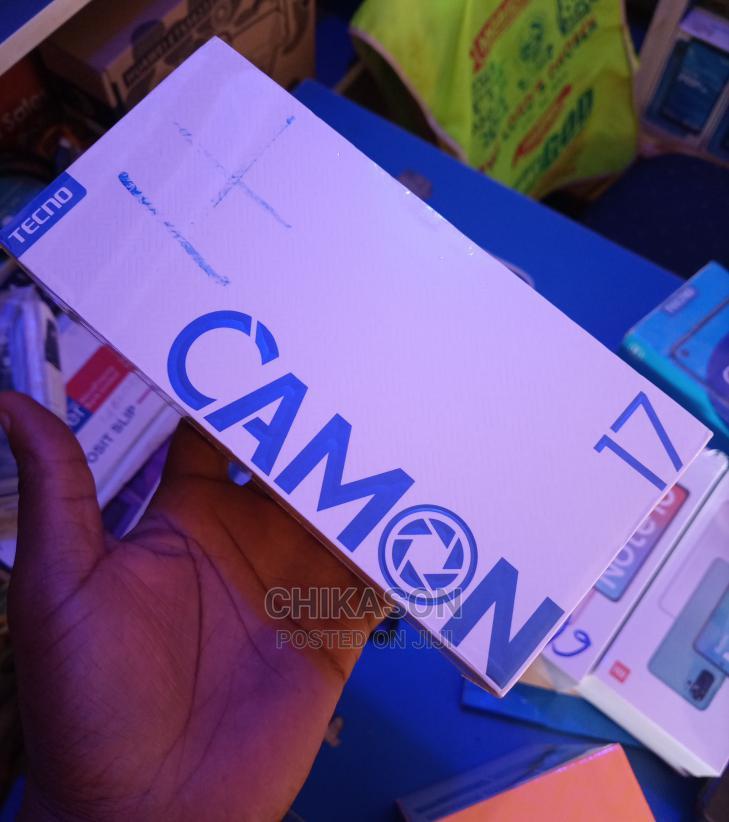 Archive: New Tecno Camon 17 128 GB Silver