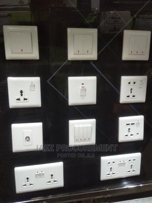 Ulti White Switch Sockets   Electrical Hand Tools for sale in Lagos State, Ojo