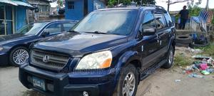 Honda Pilot 2005 LX 4x4 (3.5L 6cyl 5A) Blue | Cars for sale in Lagos State, Amuwo-Odofin