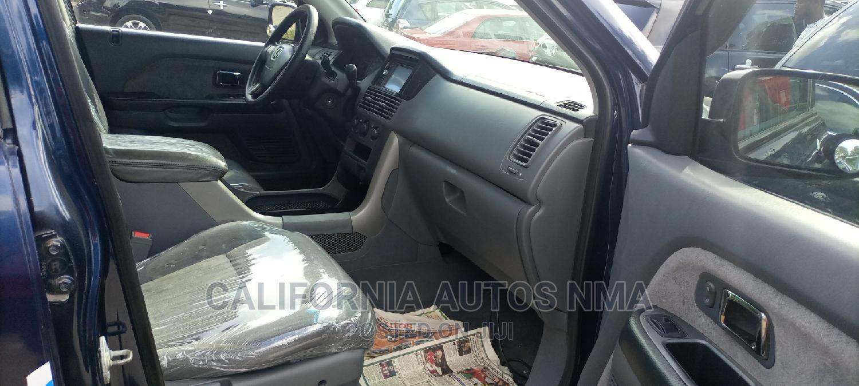 Honda Pilot 2005 LX 4x4 (3.5L 6cyl 5A) Blue   Cars for sale in Amuwo-Odofin, Lagos State, Nigeria