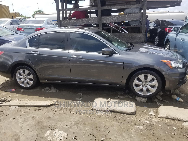 Honda Accord 2008 2.4 EX-L Gray | Cars for sale in Apapa, Lagos State, Nigeria