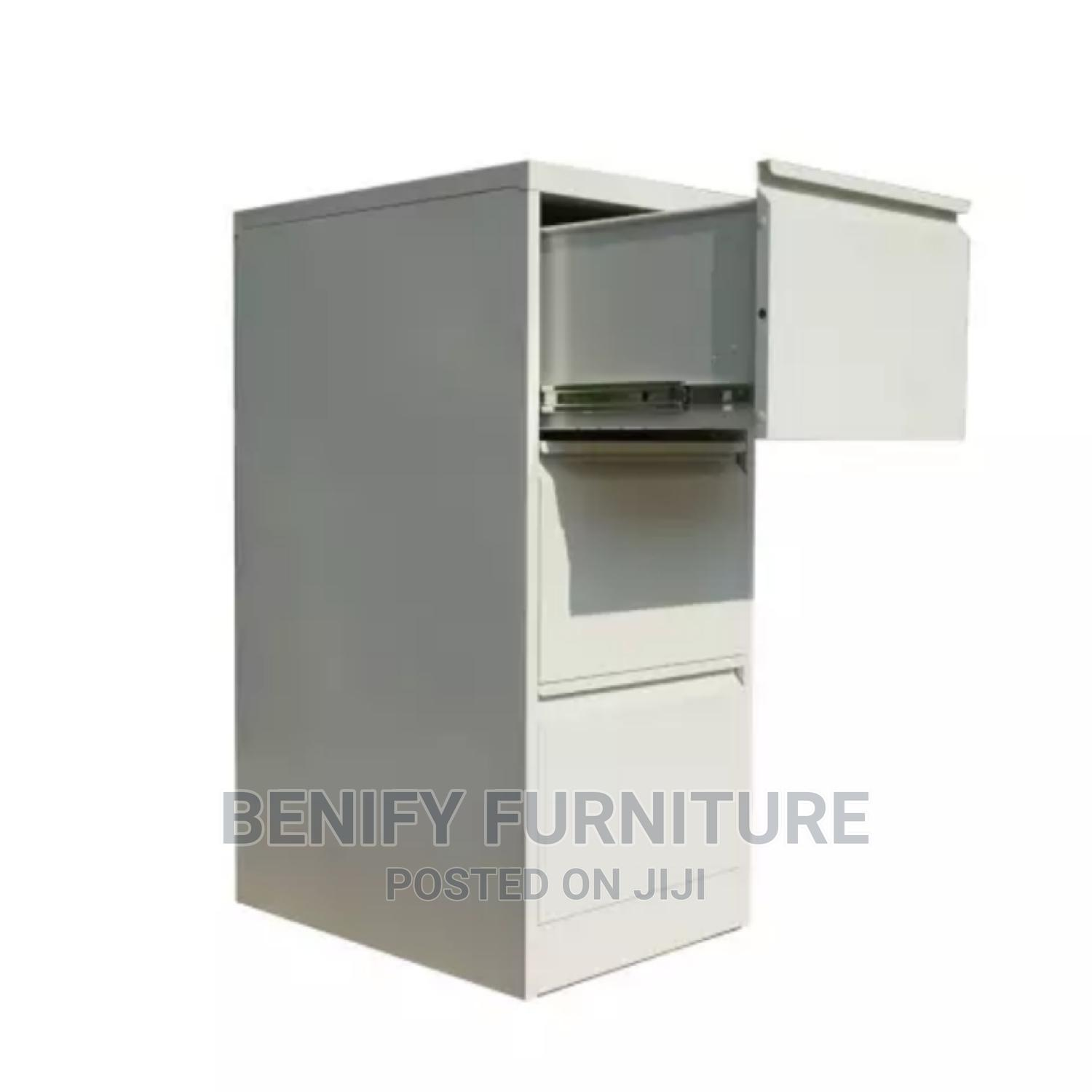 Metal 3 Drawers Filing Cabinet for Office