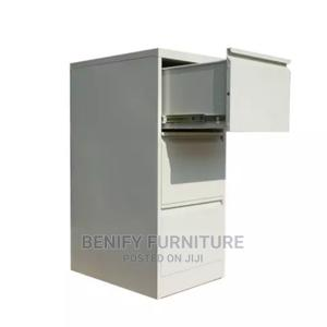 Metal 3 Drawers Filing Cabinet for Office | Furniture for sale in Lagos State, Yaba