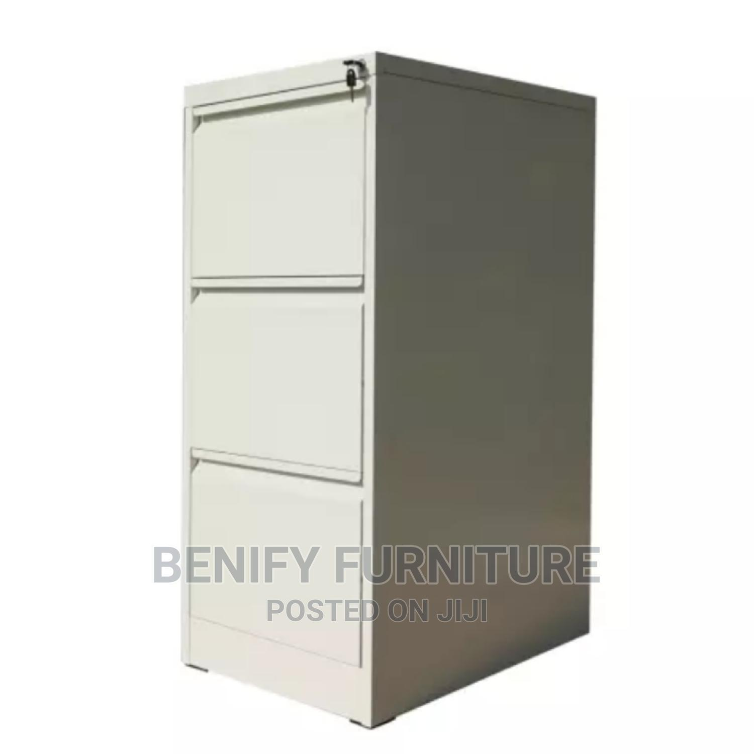 Metal 3 Drawers Filing Cabinet for Office   Furniture for sale in Yaba, Lagos State, Nigeria