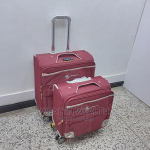 Red Short Polyester Travelers Luggage Bag | Bags for sale in Lagos State, Ikeja