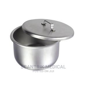 Hospital Gallipot Stainless Steel With Lid   Medical Supplies & Equipment for sale in Abuja (FCT) State, Gwarinpa