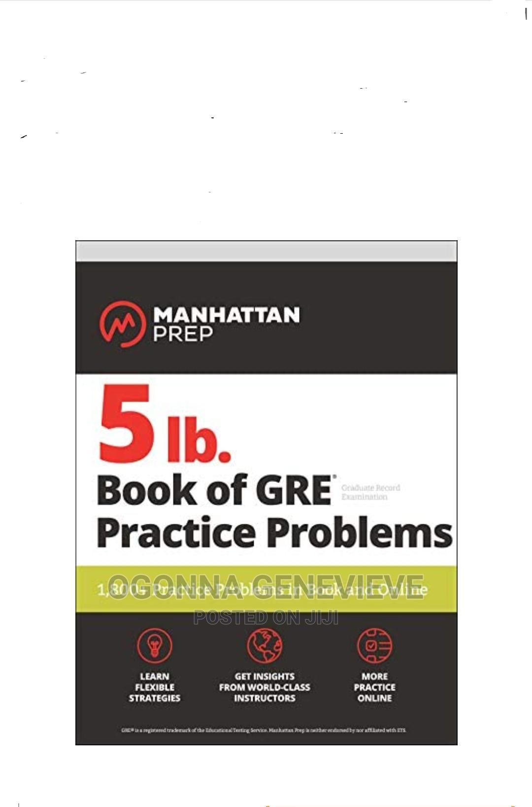 Manhattan Prep 5ib Book of GRE Practical Problems