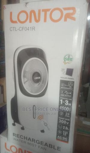 Lontor Rechargeable Mist Air Cooler With Remote And Wheels   Home Appliances for sale in Lagos State, Ikeja