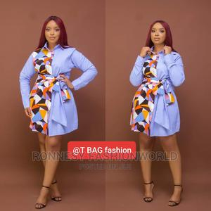 Elegant Classic Trendy Female Quality Shirt Dress | Clothing for sale in Lagos State, Ikeja