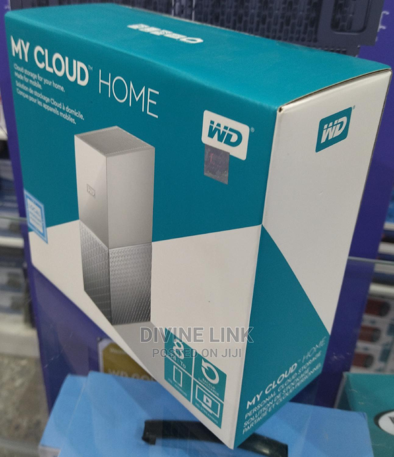 Wd My Cloud Home 8tb   Computer Hardware for sale in Ikeja, Lagos State, Nigeria