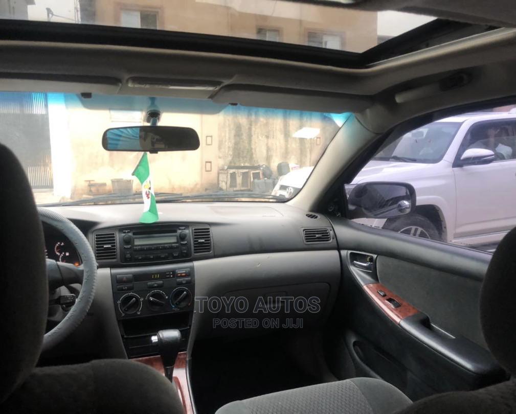 Archive: Toyota Corolla 2007 S Black