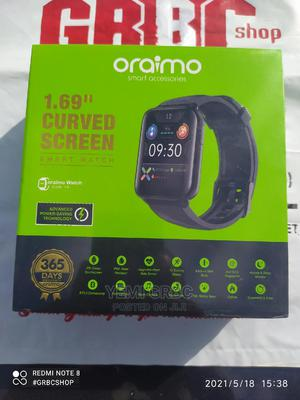 Oraimo Smart Watch (OSW-16) Tempo | Smart Watches & Trackers for sale in Oyo State, Ibadan