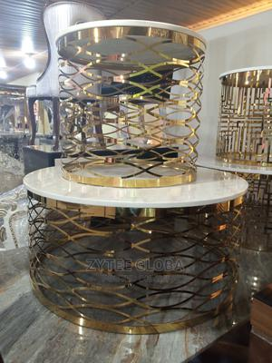 Center Table With Side Stools   Furniture for sale in Lagos State, Ojo