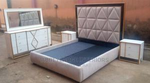 Durable Modern New Designed Bed   Furniture for sale in Lagos State, Ikoyi
