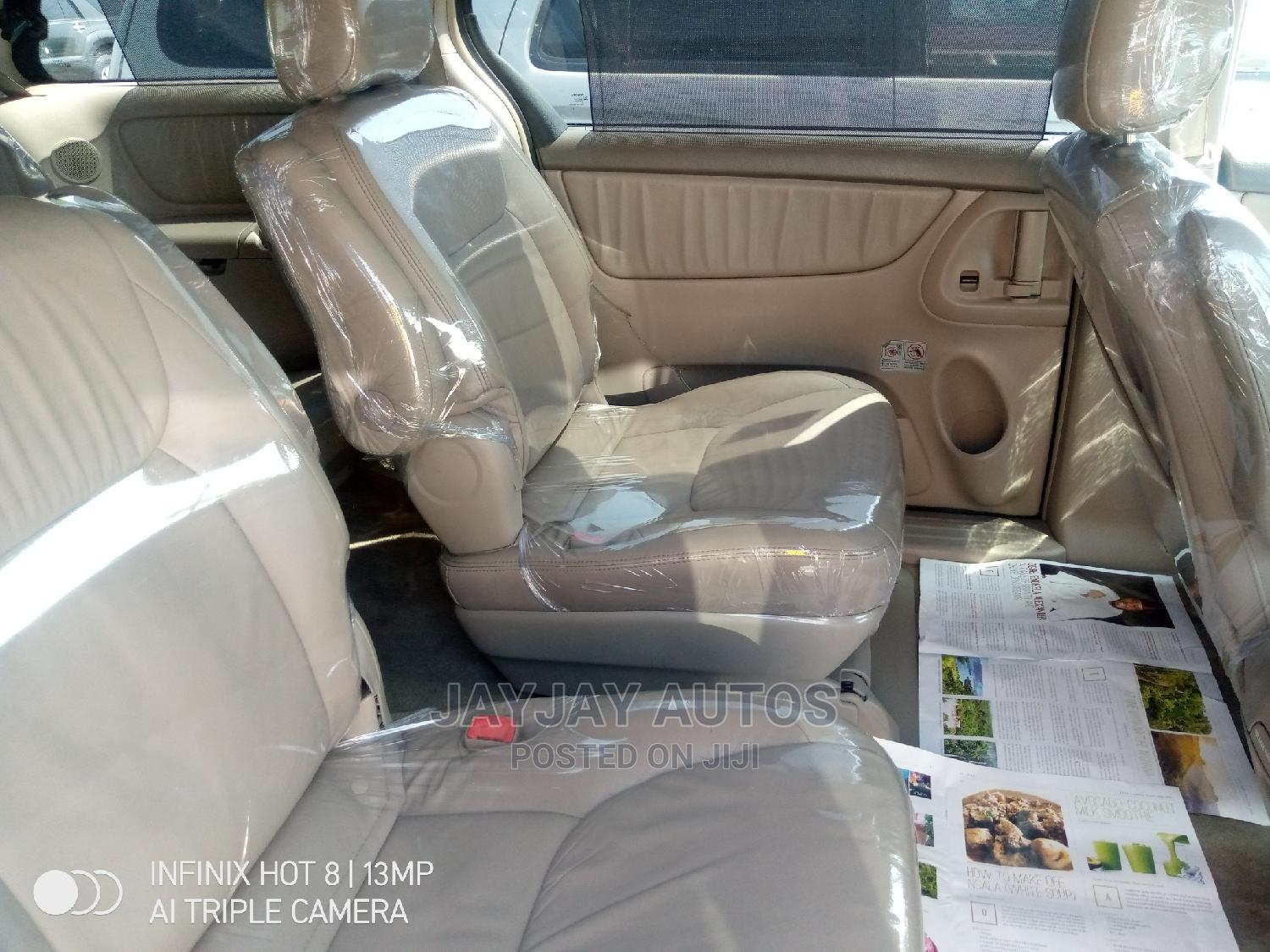 Toyota Sienna 2008 XLE Limited Black | Cars for sale in Apapa, Lagos State, Nigeria