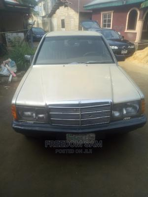 Mercedes-Benz 190E 1993 Gold | Cars for sale in Akwa Ibom State, Uyo