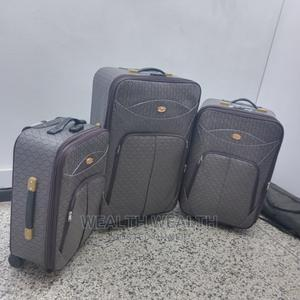 Quality Executive Brownish Leather Trolley Luggage Box | Bags for sale in Lagos State, Ikeja
