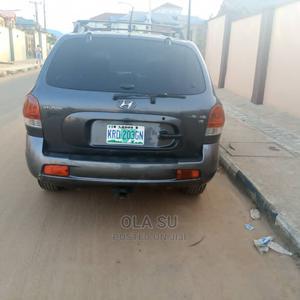 Hyundai Santa Fe 2005 GLS 3.5 L Gray | Cars for sale in Lagos State, Abule Egba