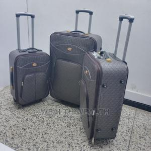 Executive (3 Set) Quality Leather Luggage Bag Available   Bags for sale in Lagos State, Ikeja