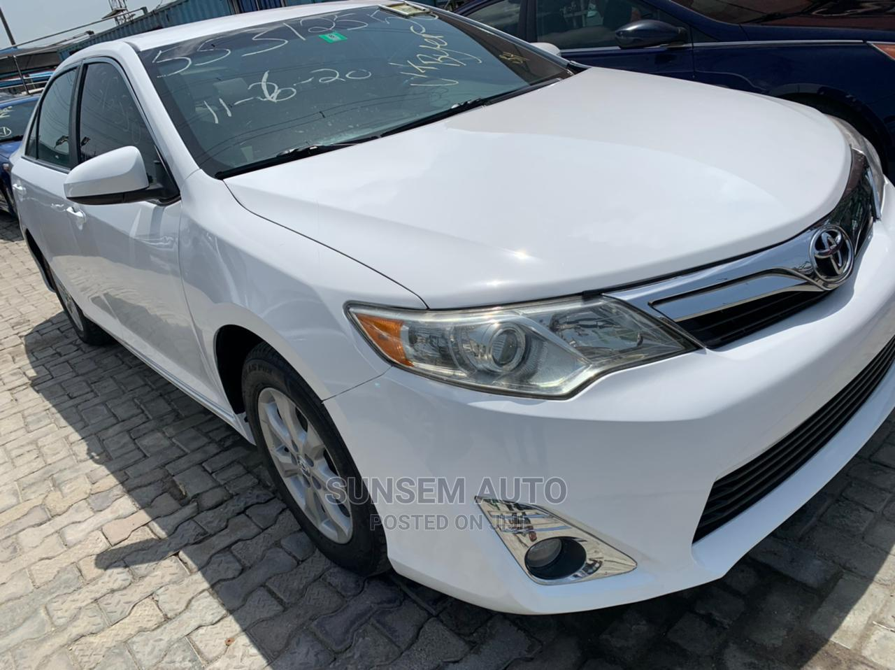 Toyota Camry 2012 White | Cars for sale in Ajah, Lagos State, Nigeria