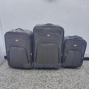 3 Set Affordable Ash Leather Luggage Box | Bags for sale in Lagos State, Ikeja