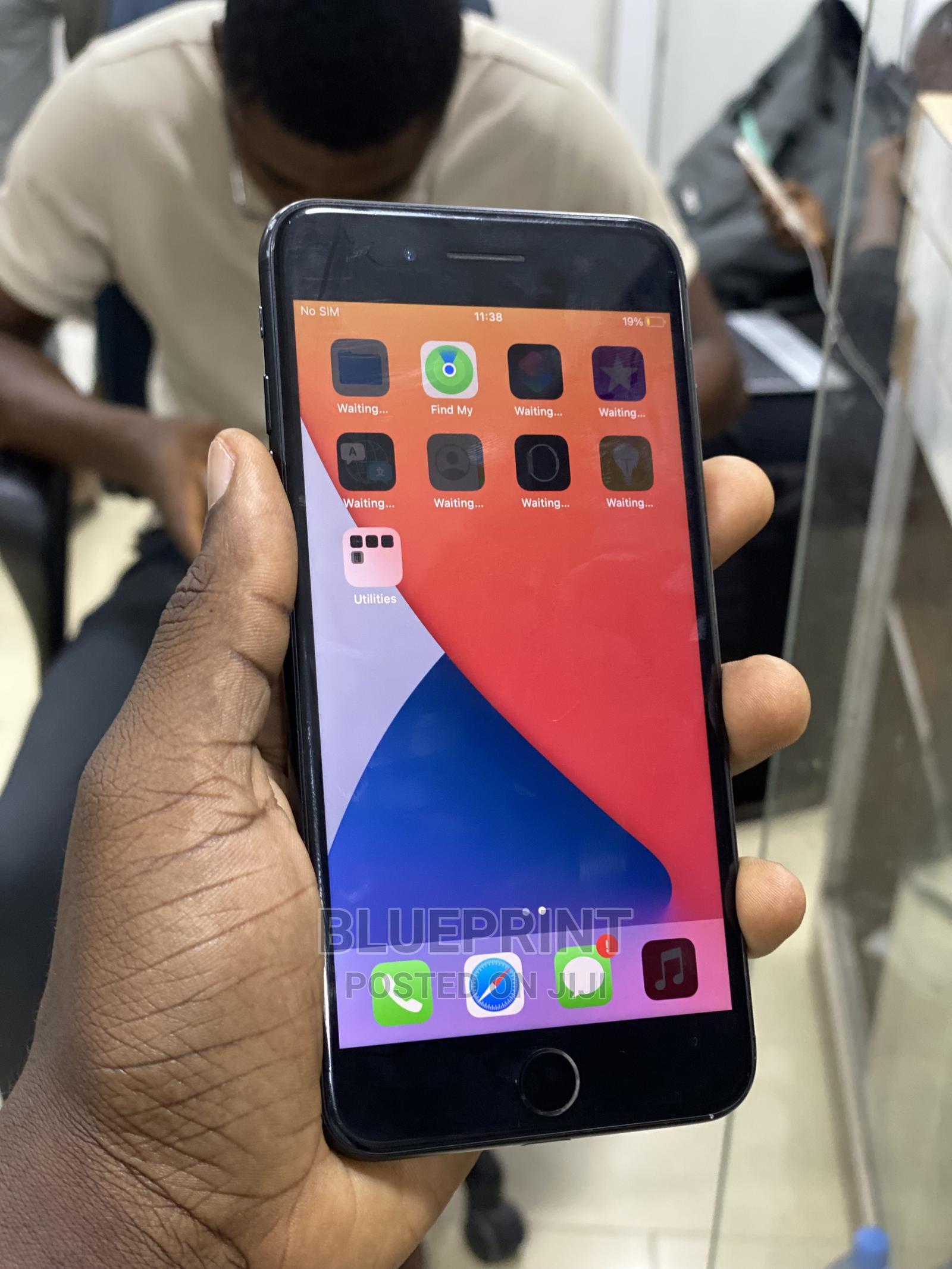 Apple iPhone 7 Plus 128 GB Black   Mobile Phones for sale in Ikeja, Lagos State, Nigeria