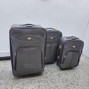 Lockable Faux Leather Trolley Luggage 3 In1 | Bags for sale in Lagos State, Ikeja