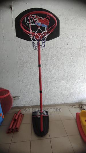 Iron Adjustable Basketball Stand | Toys for sale in Lagos State, Ikeja