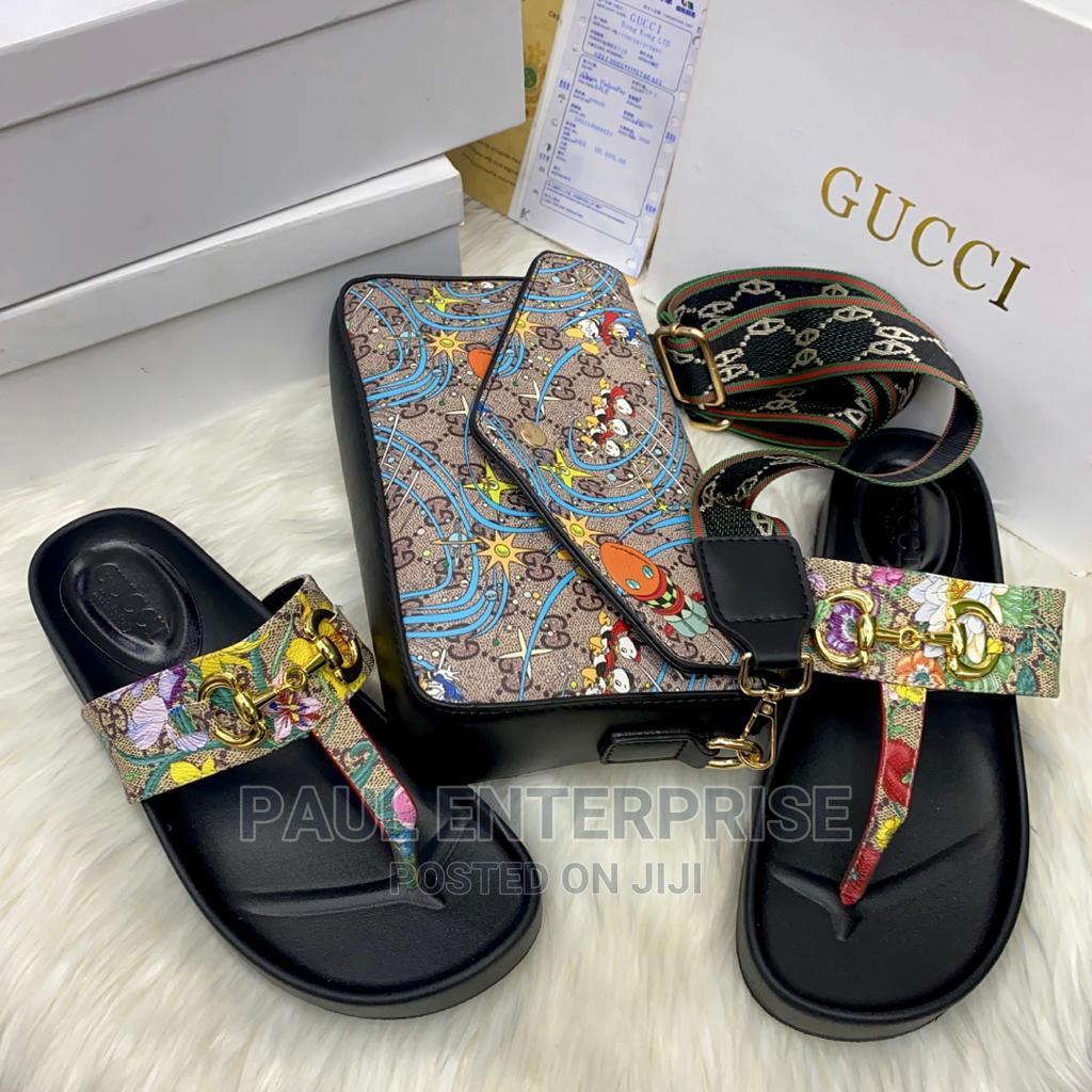 Archive: Beautiful High Quality Ladies Handbag and Slippers
