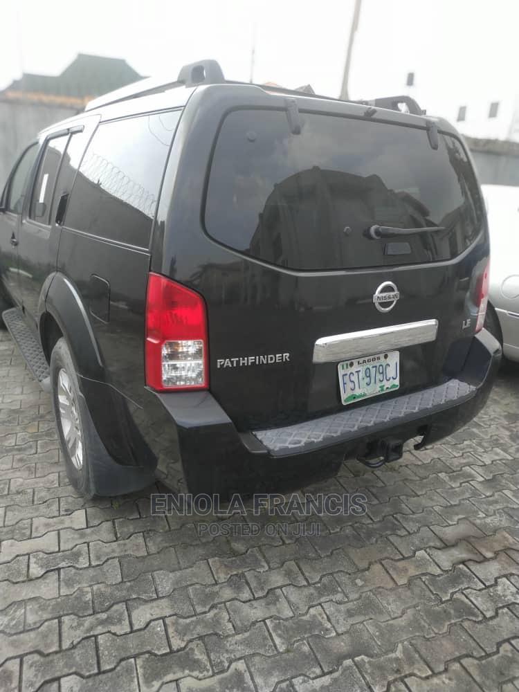Nissan Pathfinder 2008 LE Black   Cars for sale in Lekki, Lagos State, Nigeria