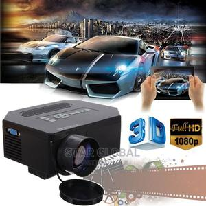 Home Theater Cinema 3D LED Projector 8000 Lumens HDMI TV AV | Accessories & Supplies for Electronics for sale in Lagos State, Lekki