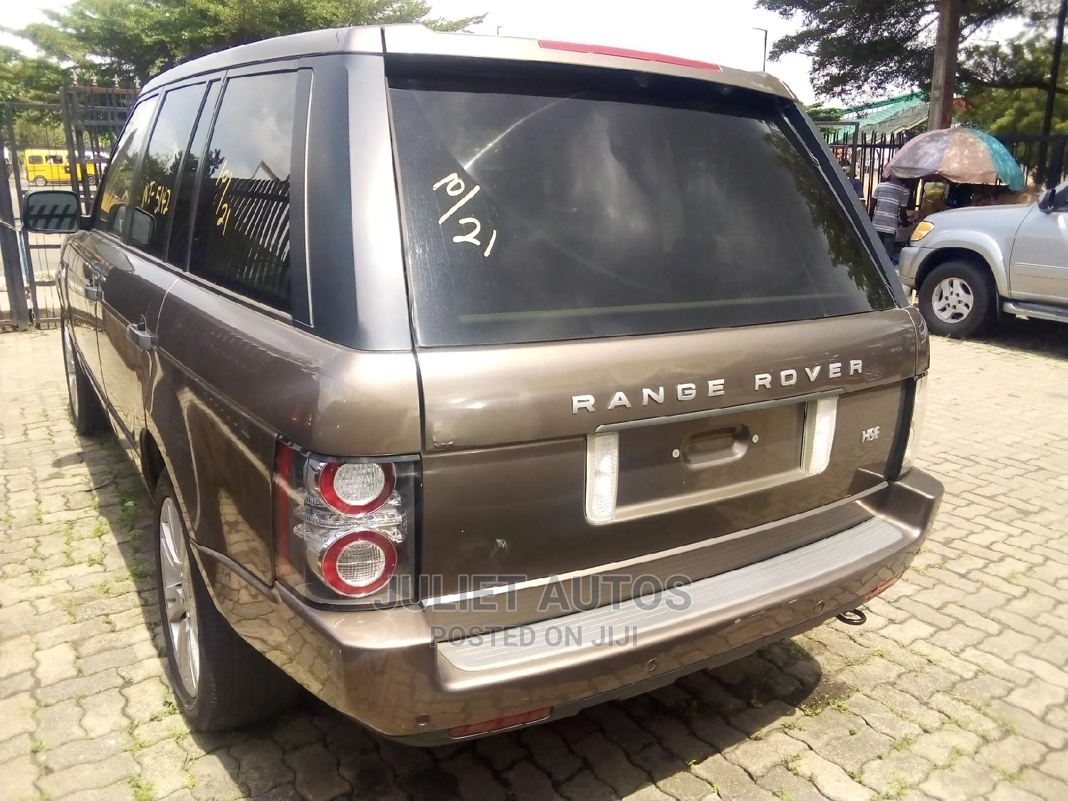 Land Rover Range Rover 2005 Gold | Cars for sale in Ikeja, Lagos State, Nigeria