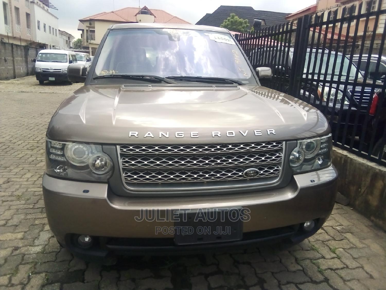 Land Rover Range Rover 2005 Gold