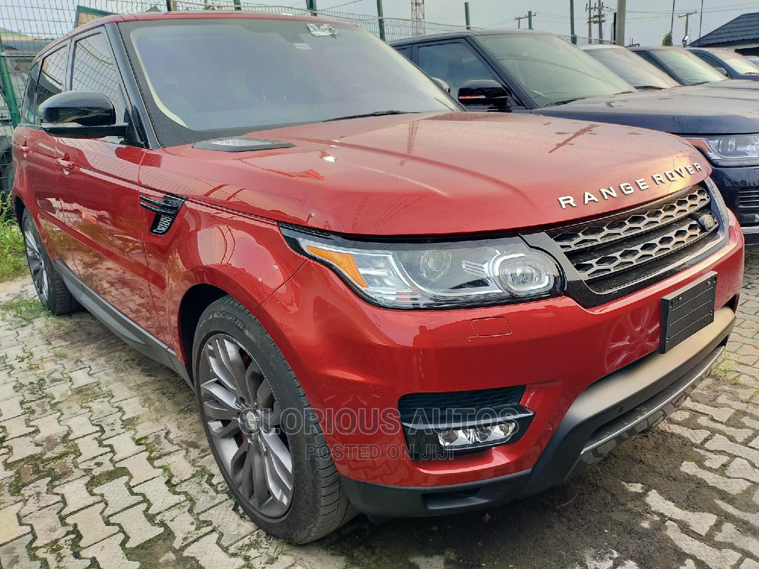 Land Rover Range Rover Sport 2016 Red