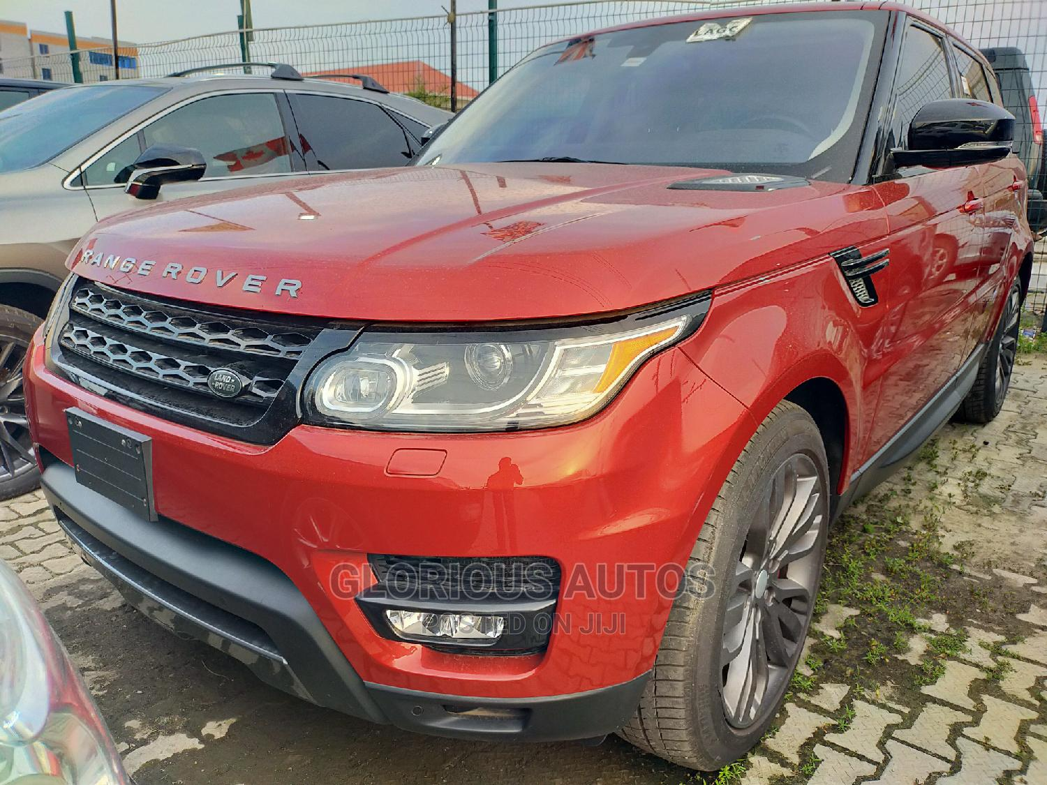 Land Rover Range Rover Sport 2016 Red | Cars for sale in Lekki, Lagos State, Nigeria