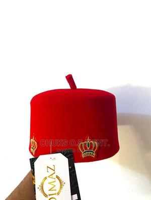 Traditional Red Cap Original   Clothing Accessories for sale in Lagos State, Oshodi