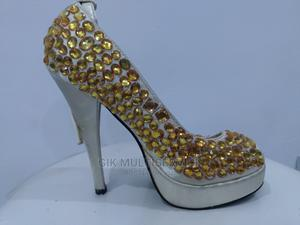 Women's Diamond High Heels Sandals | Shoes for sale in Lagos State, Ajah