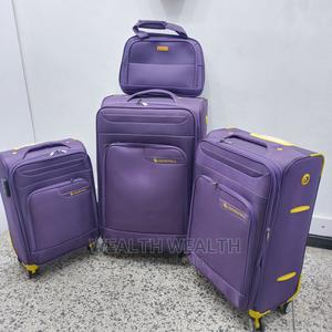 Easy Wheel Purple Leaderpolo Trolley Luggage Bag | Bags for sale in Lagos State, Ikeja