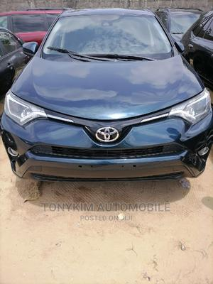 Toyota RAV4 2018 LE 4dr SUV (2.5L 4cyl 6A) Blue | Cars for sale in Lagos State, Amuwo-Odofin