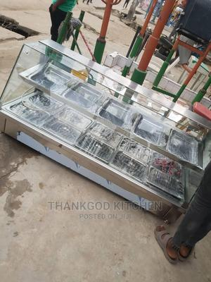 Bain Marie Food Warmer 5 Plates Up And Down | Restaurant & Catering Equipment for sale in Lagos State, Lagos Island (Eko)