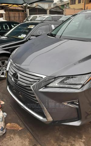 Lexus RX 2018 350L Luxury AWD Gray   Cars for sale in Lagos State, Ikeja