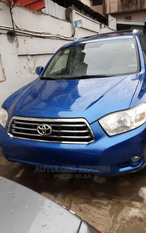 Toyota Highlander 2008 Limited 4x4 Blue   Cars for sale in Lagos State, Ikeja