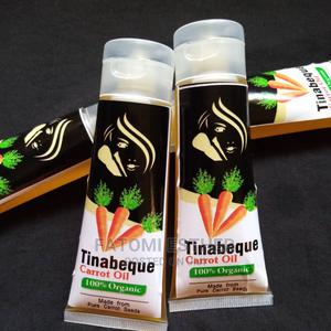 Tinabeque Organic Carrot Oil | Skin Care for sale in Lagos State, Alimosho