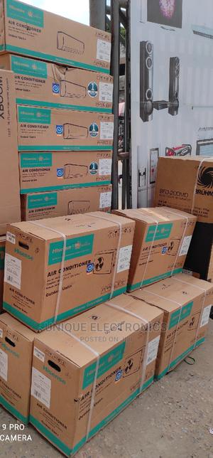 New Hisense AC 1.5-Hp Split Inverter R410A Fast Cooling+ Kit   Home Appliances for sale in Lagos State, Ojo