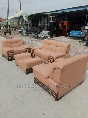 Set of Sofa Chair With Center Table | Furniture for sale in Lagos State, Mushin