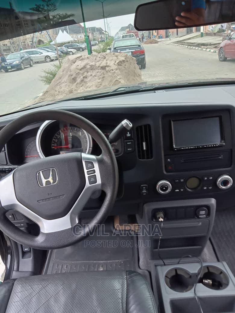 Honda Ridgeline 2007 Black | Cars for sale in Isolo, Lagos State, Nigeria