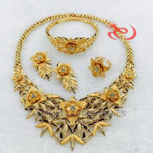 Gold Costume Set   Jewelry for sale in Lagos State, Ojo