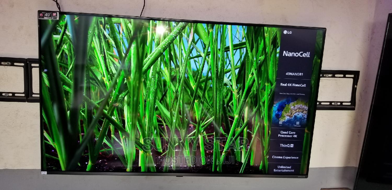 49 Inches Nano Cell LG Smart Tv   TV & DVD Equipment for sale in Ojo, Lagos State, Nigeria