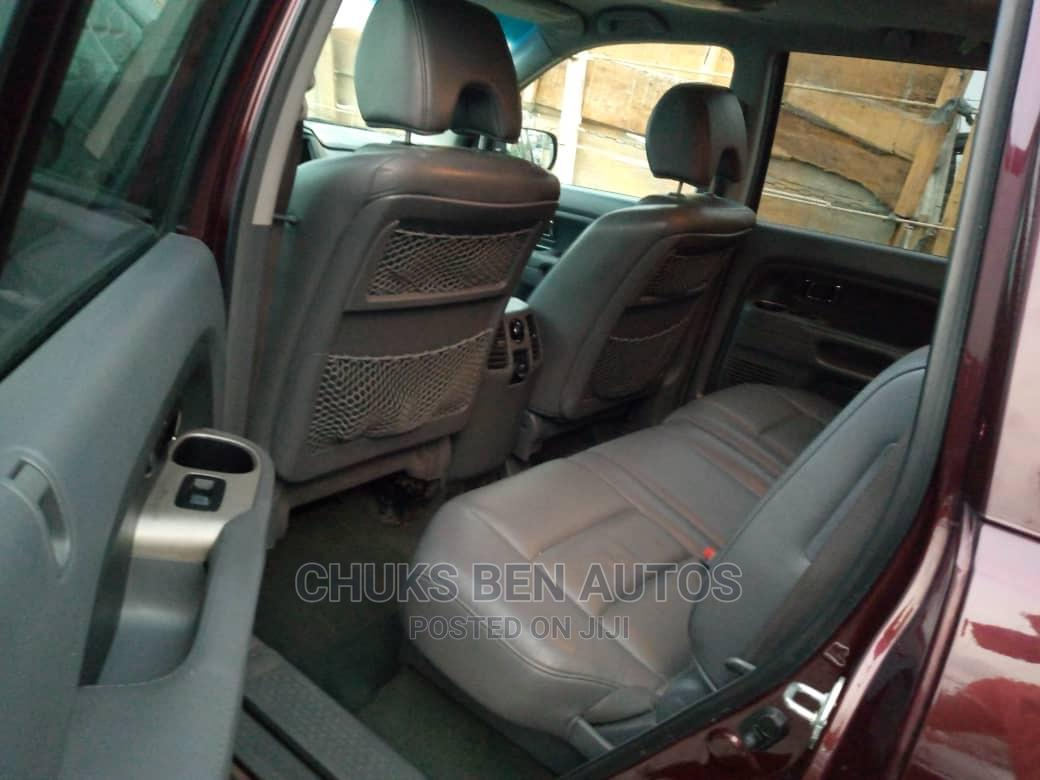 Honda Pilot 2008 EX 4x4 (3.5L 6cyl 5A) Red   Cars for sale in Ajah, Lagos State, Nigeria