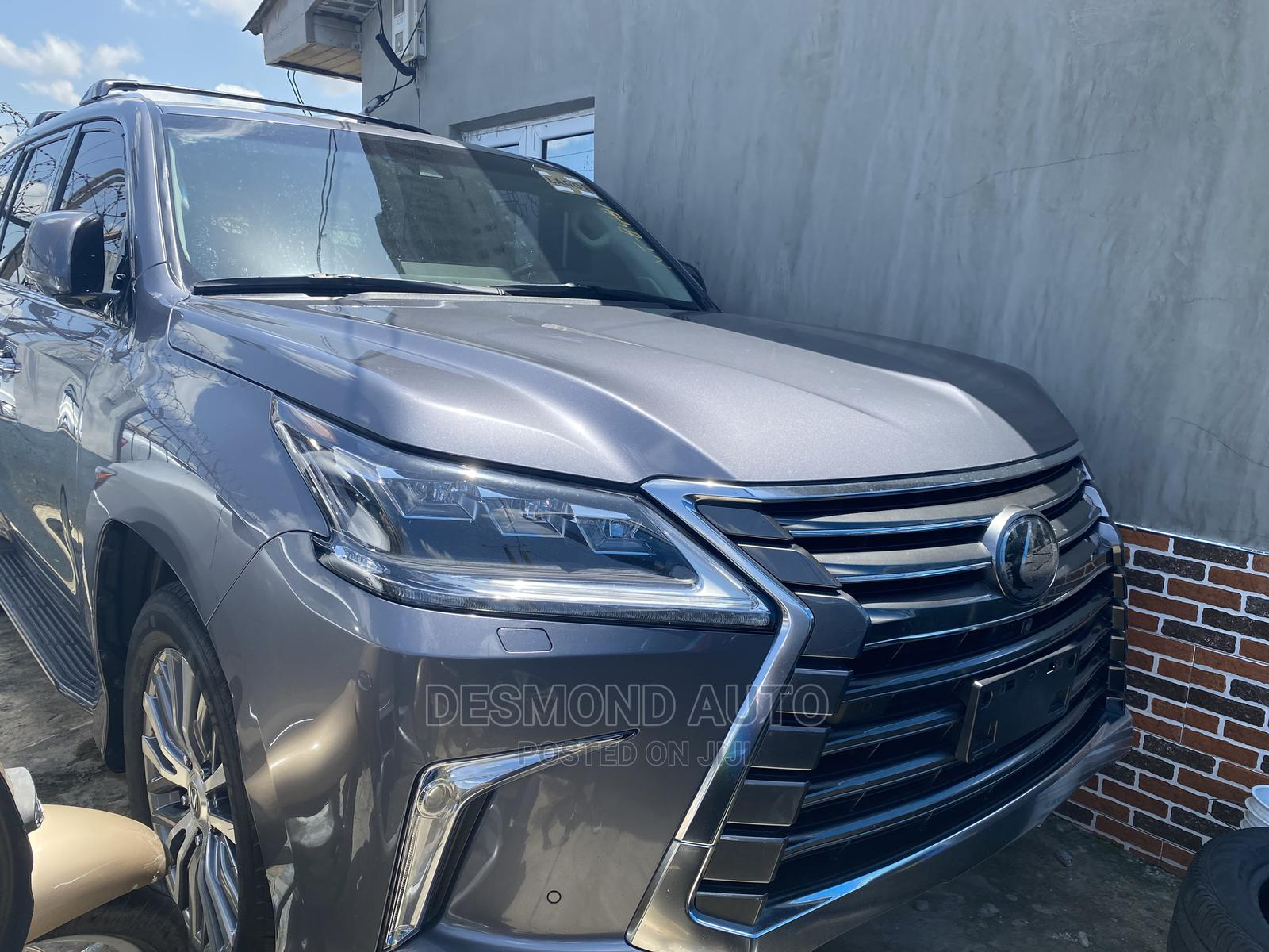 Lexus LX 2018 Gray | Cars for sale in Surulere, Lagos State, Nigeria